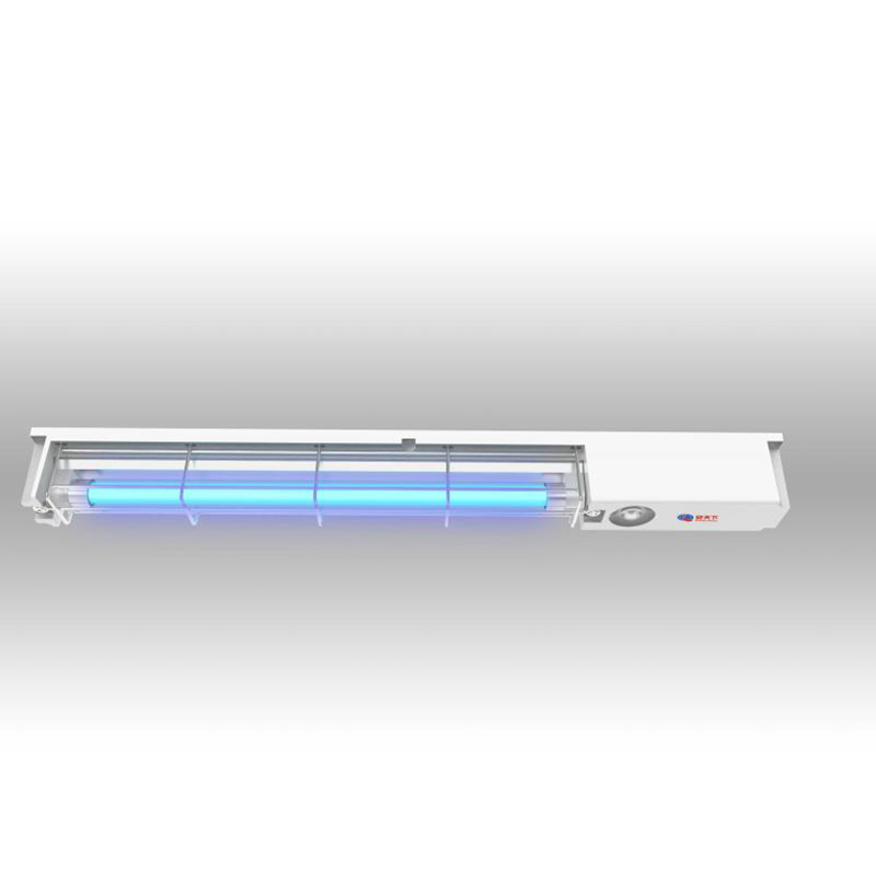 UV disinfection lamps for elevators