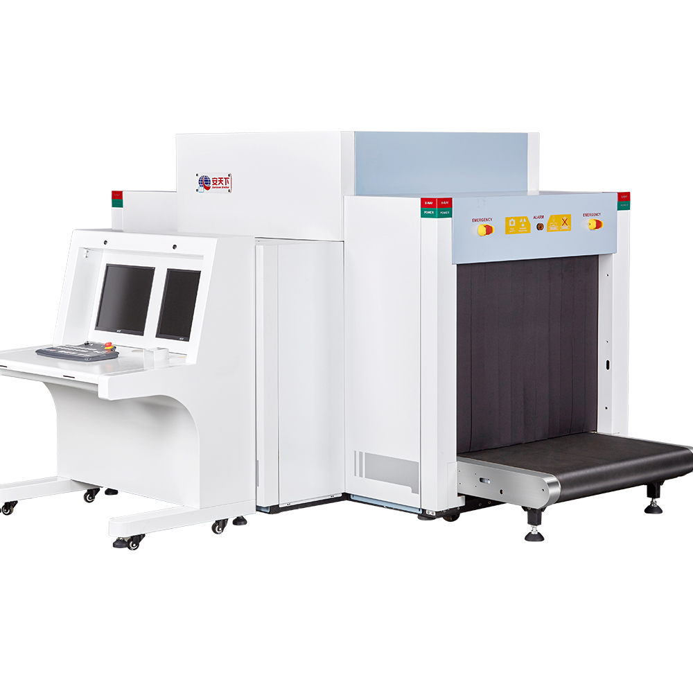 Dual View Airport X-ray Baggage Scanner for Security Inspection